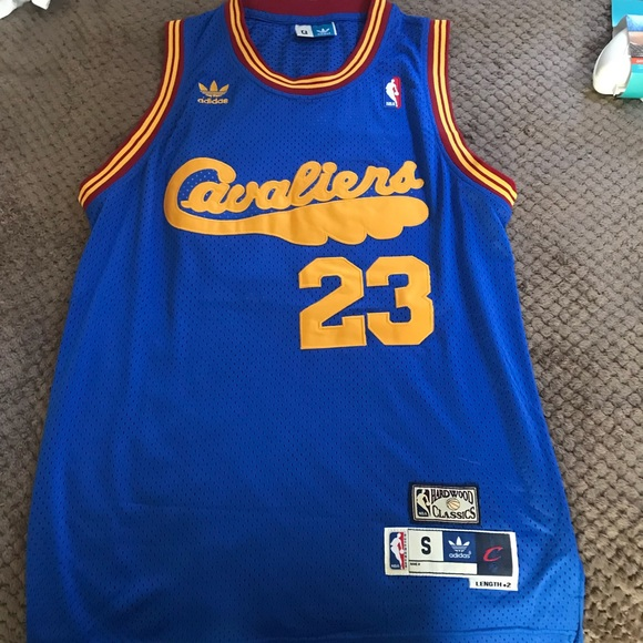 premium selection 81fc9 c70fb Cleveland Cavaliers Throwback Jersey Lebron James